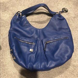 Michael Kors cobalt blue purse